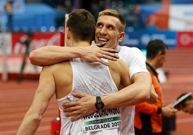 Paweł Wojciechowski i Piotr Lisek
