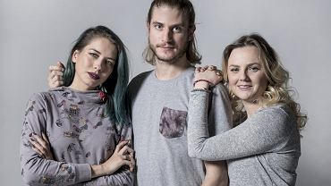 Na zdjęciu Karolina, Adam, Magda