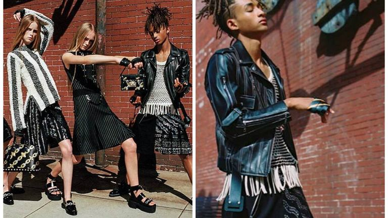 Jaden Smith dla Louis Vuitton 2016