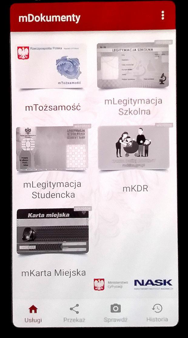 Aplikacja mDokumenty