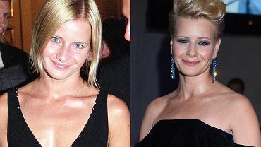 Małgorzata Kożuchowska to niezapomniana Hanka Mostowiak. Na zdjęciach w 2002 roku i obecnie.
