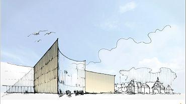 Poznań ma mieć nowy szpital centralny - wizualizacja projektu