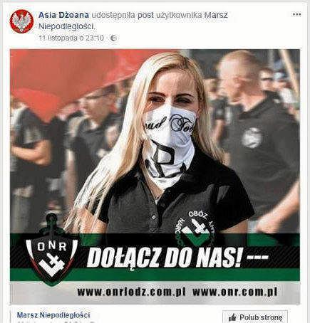 Dyrektorka szkoły podstawowej w Stalowej Woli na Facebooku zachęcała do dołączenia do ONR.