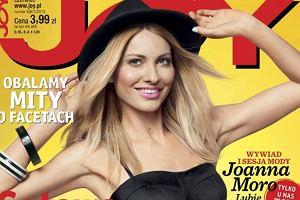 """Joanna Moro coraz odwa�niejsza! Pokaza�a brzuch na nowej ok�adce """"Joya"""""""