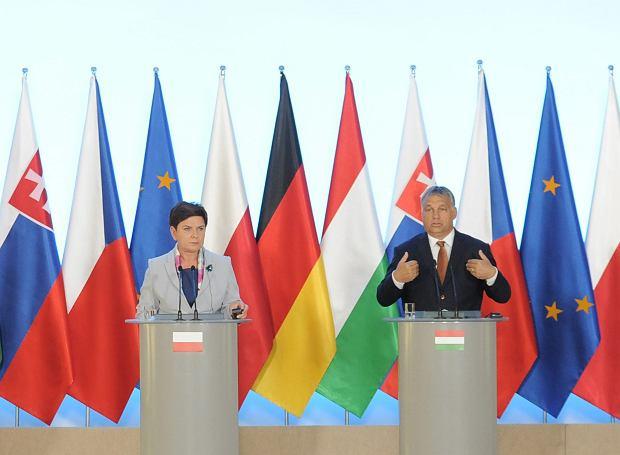 Beata Szydło i Viktor Orban