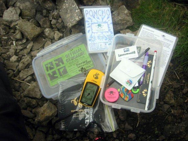 Geocaching, zabawa w poszukiwanie skarb�w