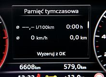 Audi A5 Sportback 2.0 TDI   Test spalania