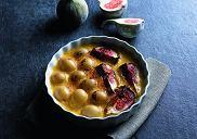 Crème brûl�e figowo-winogronowy