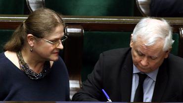 Posłanka Pawłowicz podobno przekonała prezesa Kaczyńskiego do medycznej marihuany