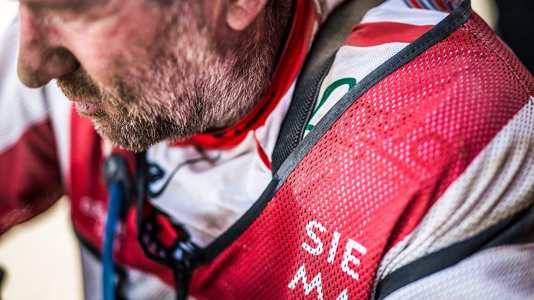 Rafał Sonik podczas Rajdu Dakar 2018
