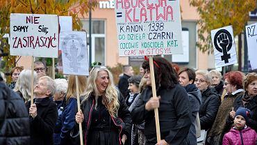 Czarny Protest w Wałbrzychu