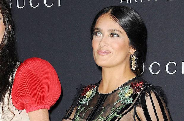 Salma Hayek i Demi Moore to dwie ponadczasowe piękności. Gdy pozowały razem na czerwonym dywanie, było gorąco!