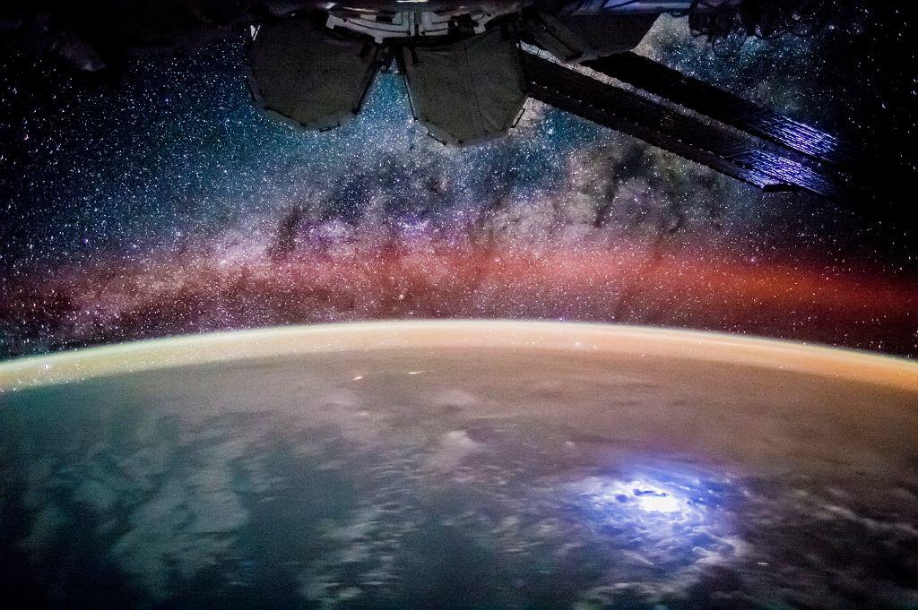 Widok z Międzynarodowej Stacji Kosmicznej