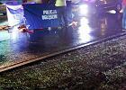 Tragiczny wypadek pod Lubawą. Kierowca w środku nocy potrącił pieszych. Nie mieli odblasków