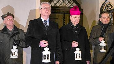 Prezydent Poznania Jacek Jaśkowiak i abp Stanisław Gądecki