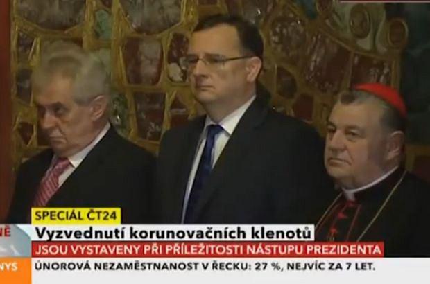 Prezydent Zeman nie czuł się najlepiej