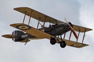 Legendarny bristol fighter ze sprawnym silnikiem w Muzeum Lotnictwa Polskiego w Krakowie