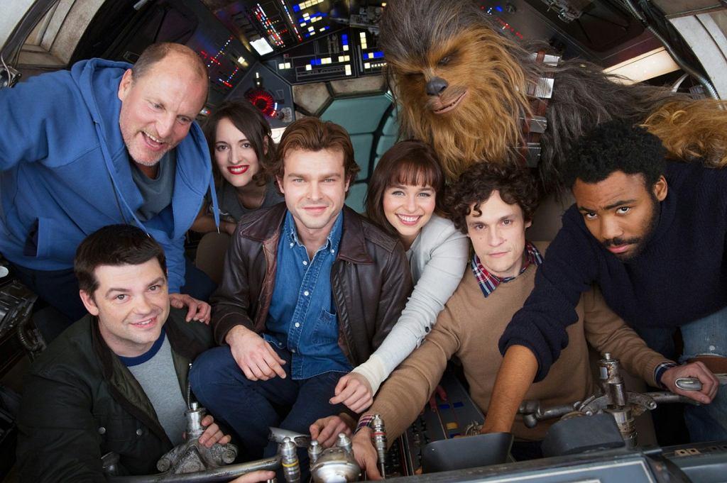Obsada filmu 'Han Solo: Gwiezdne wojny - historie' (fot. materiały promocyjne) / Obsada filmu 'Han Solo: Gwiezdne wojny - historie' (fot. materiały promocyjne)