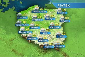 Prognoza pogody na weekend: w sobot� mo�e zagrzmie�, niedziela zdecydowanie spokojniejsza