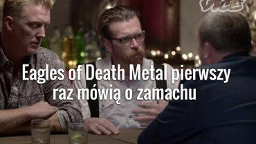 """""""Nie byli�my pewni, czy terrory�ci strzelaj� do nas"""". Eagles of Death Metal pierwszy raz m�wi� o zamachu"""