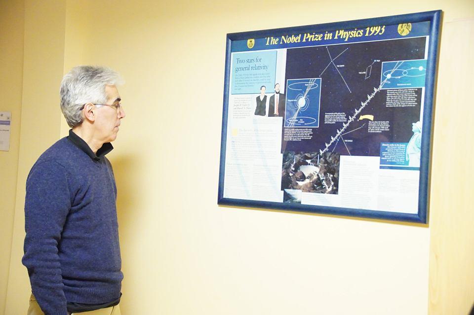 Zdjęcie numer 9 w galerii - Profesor Gil już oficjalnie patronem astronomii