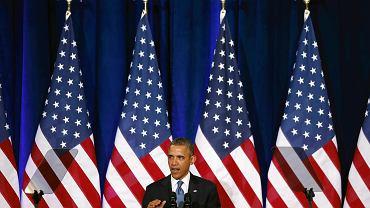 Prezydent Barack Obama. Biały Dom jeszcze nie złożył wyjaśnień w sprawie podsłuchiwania dziennikarzy w Niemczech
