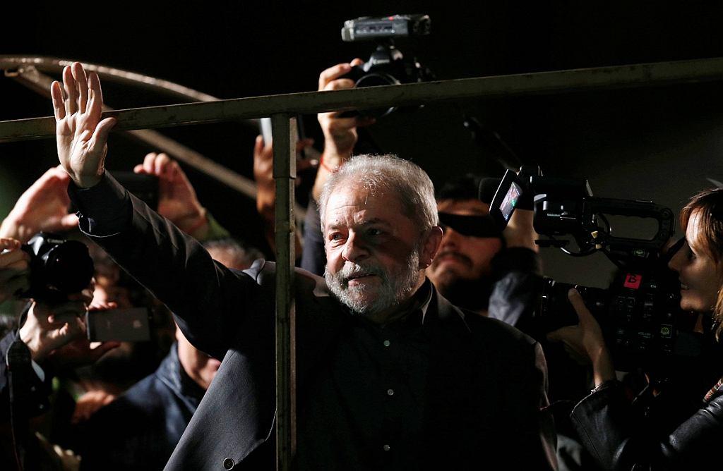 Były prezydent Brazylii Lula da Silva (fot. Paulo Whitaker/Reuters)