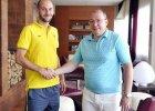 Iwan Majewski po podpisaniu umowy