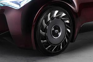 Toyota opracowała oponę bez powietrza. Ciekawy koncept Fine-Comfort Ride