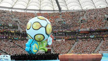 Show na otwarcie Euro 2012 na Stadionie Narodowym w Warszawie