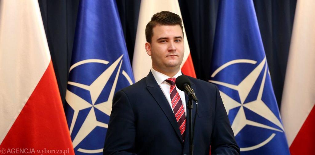 Bartłomiej Misiewicz (fot. Sławomir Kamiński/Agencja Gazeta)