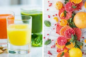 Witaminowe shoty ekspresowo uzupełnią niedobory składników odżywczych. Wypróbuj nowe przepisy