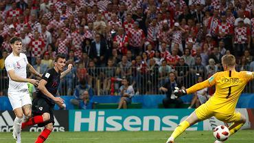 Mś 2018. Chorwacja - Anglia, pada zwycięski gol