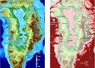 """Grenlandia bez lodu. Niesamowita mapa """"gołej"""" wyspy"""