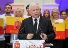 Prezes PiS Jarosław Kaczyński przemawia podczas konwencji PiS