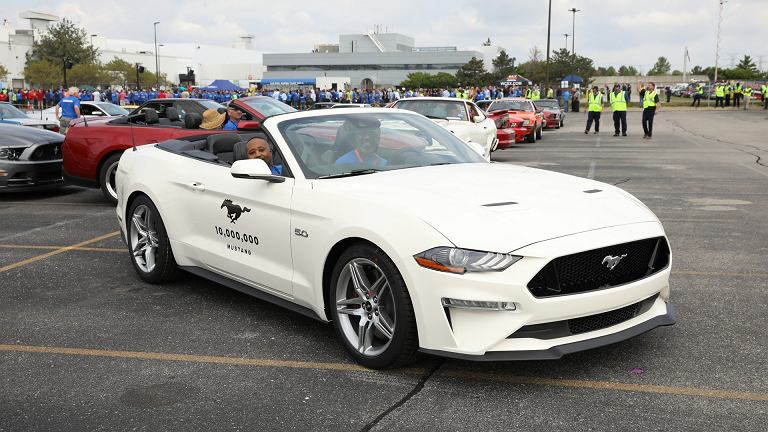Ford Mustang nr 10 000 000
