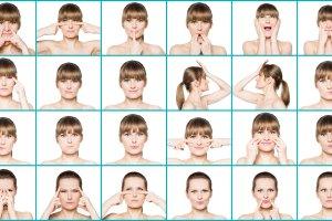 Gimnastyka twarzy. Robimy dzi�bek zamiast botoksu