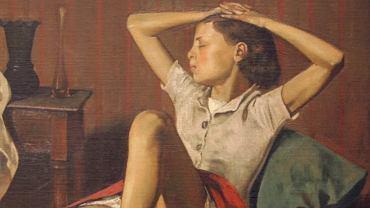 Balthus, Therese Dreaming, 1938, Metropolitan Museum of Art