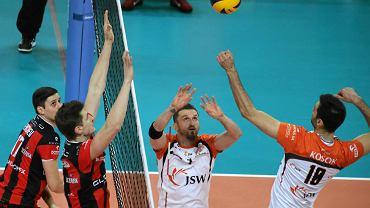 Jastrzębski Węgiel - Asseco Resovia 1:3 w drugim meczu półfinałowym play off PlusLigi