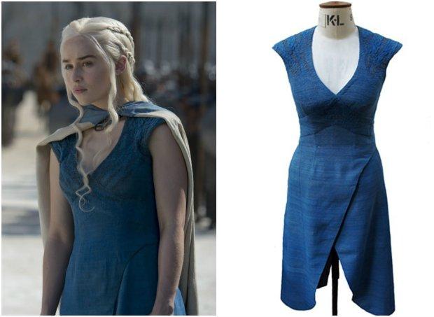 niebieska suknia denerys