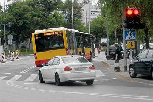 Kierowcy autobusów nagminnie wjeżdżają na czerwonym