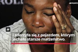Wimbledon. Łzy Venus Williams na konferencji prasowej