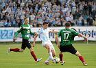 Stomil Olsztyn - GKS Tychy 1:1. Tu Łukasz Suchocki jeszcze w barwach OKS (2013 r.)