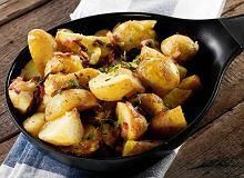 Ziemniaki pieczone z rozmarynem, boczkiem i sokiem z cytryny - ugotuj