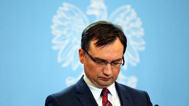 Minister sprawiedliwości i prokurator generalny w rządzie PiS Zbigniew Ziobro