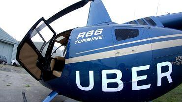Helikopter Ubera przez dwa dni w Polsce