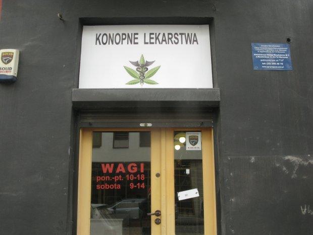 Konopne Lekarstwa u. Ząbkowska 6