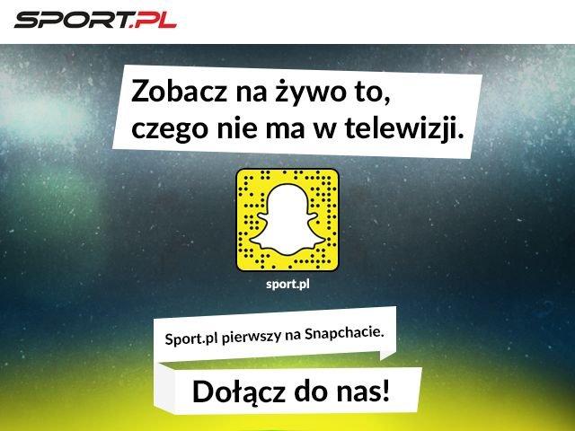 Sport.pl na Snapchacie