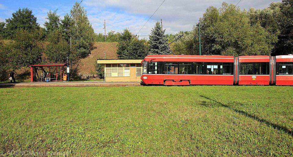 Pętla tramwajowa w Katowicach-Brynowie