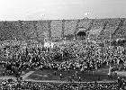 Uroczyste otwarcie Stadionu X-lecia 22 lipca 1955 roku